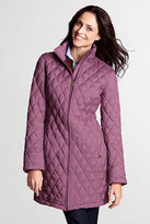 lands end heathered down coat