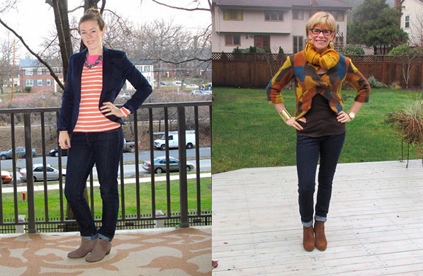 outfit post flat booties