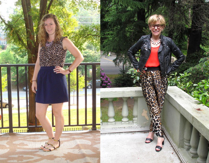 outfit post animal print