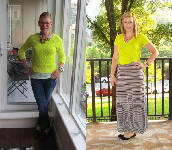 outfit post fall neons
